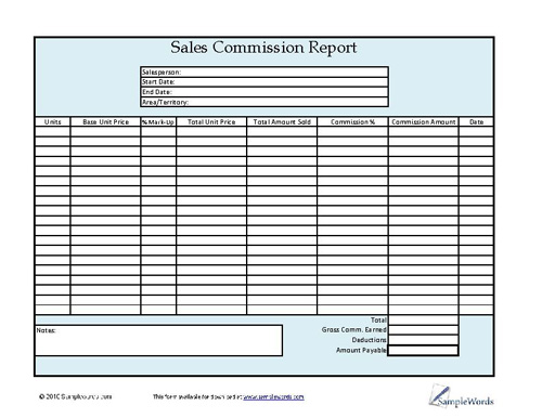 Sales  Marketing Forms Template Letters And Spreadsheets