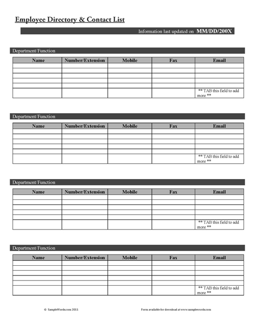 Personnel & Hr Forms, Template Letters And Spreadsheets
