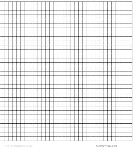 graph paper template doc