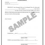 Affidavit Forms