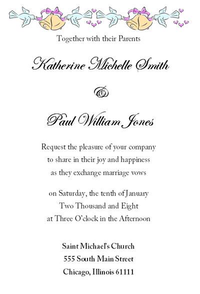 home wedding invitation thumb pre wedding invitation letter sample bernit bridal,Marriage Invitation Mail Matter