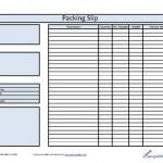 blank packing list template download in microsoft word