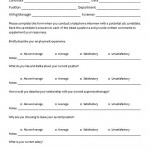 Phone Interview Questionnaire