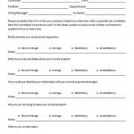 Phone Interview Questionnaire