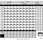 Baseball Score Card