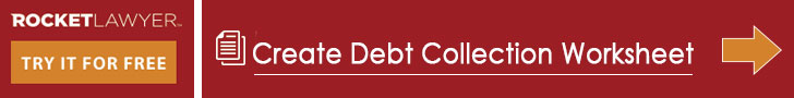 debt collection worksheet
