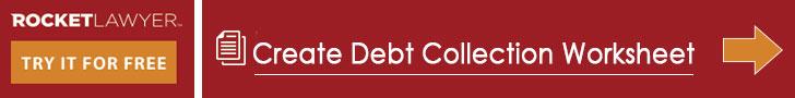 debt collection worksheet