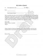 401k Rollover Letter Template